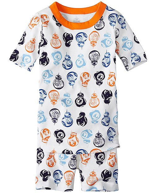 Star Wars™ Kids The Force Awakens Short John Pajamas In Organic Cotton by Hanna Andersson