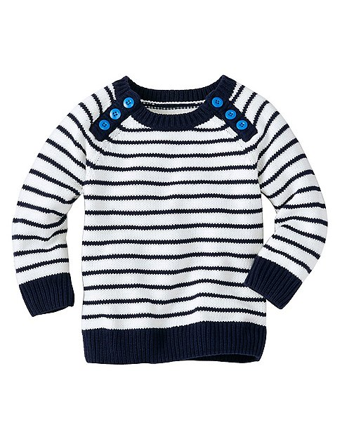 Toddler Comfy Cotton Popover Sweater by Hanna Andersson