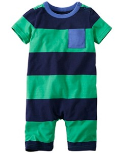 Toddler All In One Romper In Supersoft Jersey by Hanna Andersson