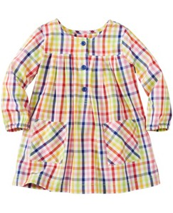 Toddler Basketweave Pleat & Pocket Tunic Dress by Hanna Andersson
