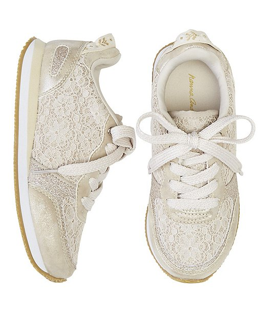 Girls Magda Lace Joggers By Hanna