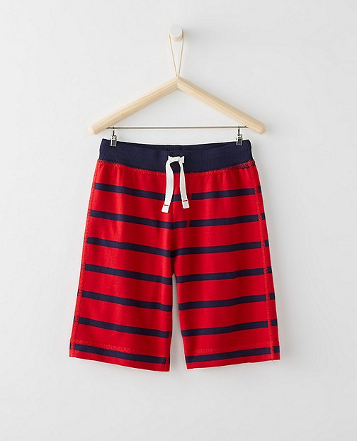 Bright Kids Basics Shorts In French Terry by Hanna Andersson