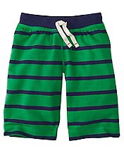 Boys Bright Kids Basics Shorts In French Terry by Hanna Andersson