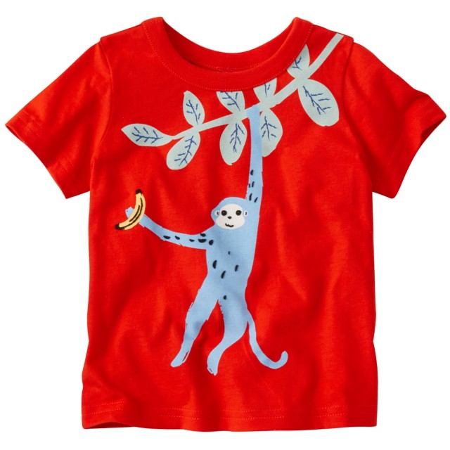 Toddler Art Tee In Supersoft Jersey by Hanna Andersson