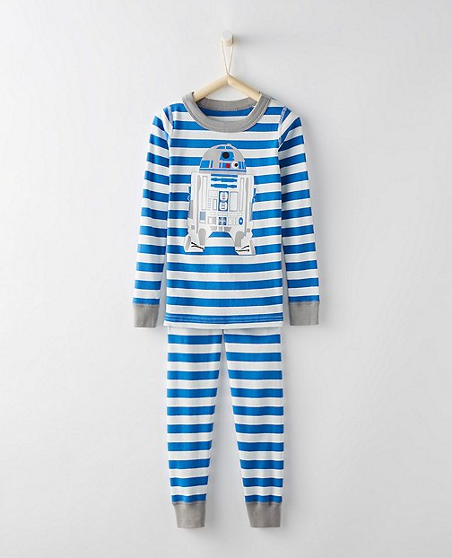 Kids Star Wars™ Long John Pajamas In Organic Cotton by Hanna Andersson
