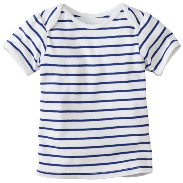 Toddler Lap Shoulder Pima Tee by Hanna Andersson