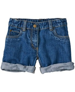Girls Relaxed Jean Shorts by Hanna Andersson