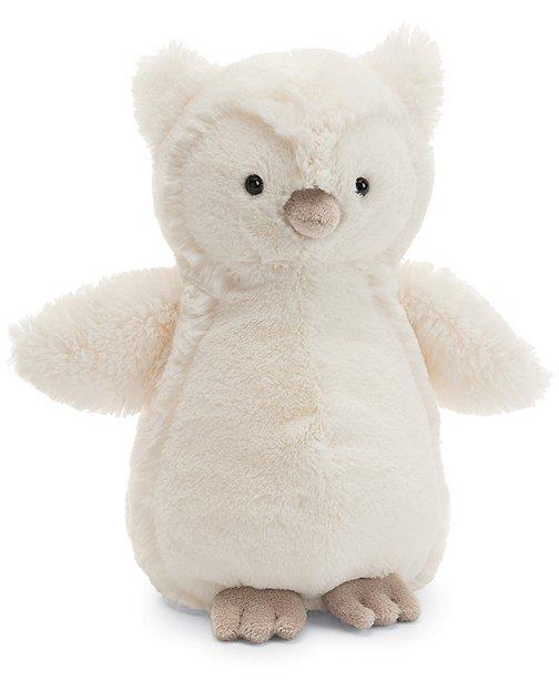 Medium Bashful Owl By Jellycat