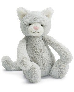 Medium Bashful Kitty By Jellycat
