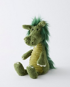 Snagglebaggle Dudley Dragon By Jellycat