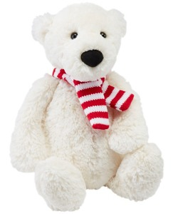 Medium Bashful Polar Bear By Jellycat