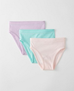 Girls Hipster Unders 3 Pack In Organic Cotton by Hanna Andersson