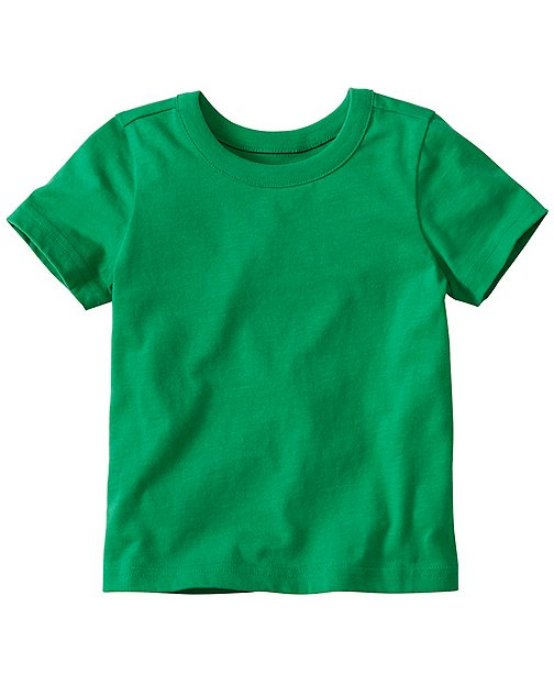 Toddler Layering Tee In Supersoft Jersey by Hanna Andersson