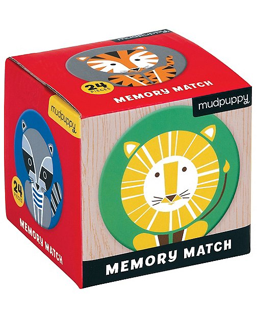 Animal Mini Memory Game By Mudpuppy