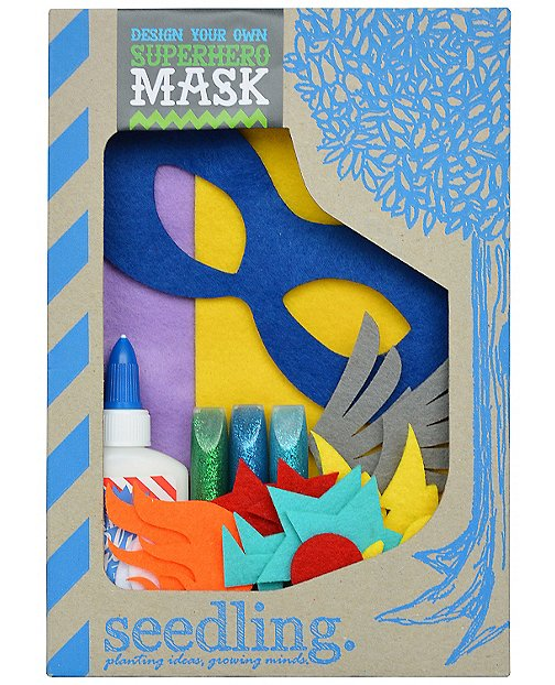 Make Your Own Superhero Mask by Hanna Andersson