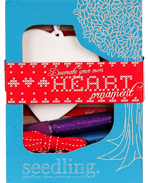 Make Your Own Heart Ornament by Hanna Andersson