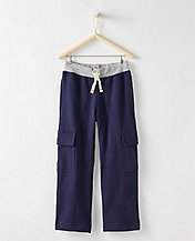 Bright Kids Basics Double Knee Cargo Sweats by Hanna Andersson