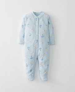 Baby Little Sleepers With Feet In Organic Pima Cotton by Hanna Andersson