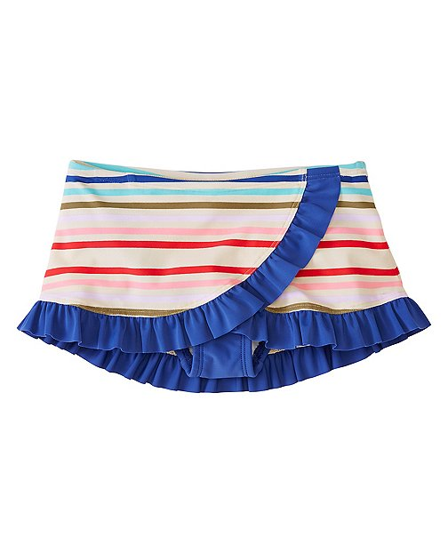 Girls Retro Swim Skirt by Hanna Andersson