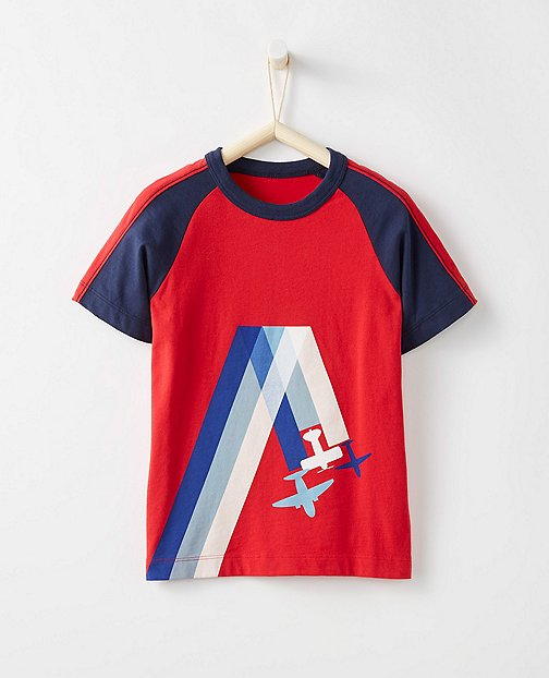 Boys Vroom Tee In Supersoft Jersey by Hanna Andersson