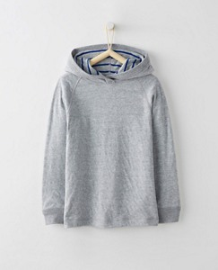 Boys Supersoft Reversible Hoodie by Hanna Andersson