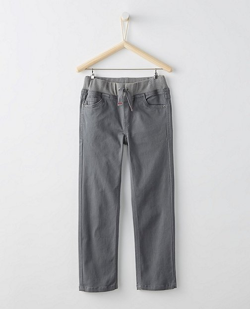 Boys Kickstart Slim Pants by Hanna Andersson