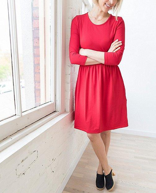 Women Elisabet Dress by Hanna Andersson