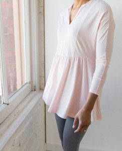Women Drapey Flounced Tunic by Hanna Andersson