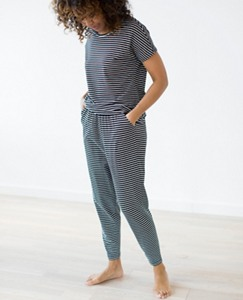 Women's Slouchy Pima PJ Set by Hanna Andersson