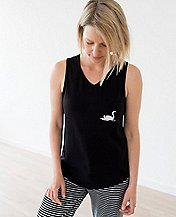 Women's Love, Hanna Pima Cotton PJ Tank   by Hanna Andersson
