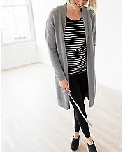 Women's Silk Touched Long Cardigan by Hanna Andersson