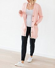 Women Modern Cardigan In Cotton Cashmere by Hanna Andersson