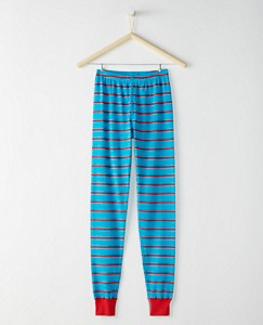Justice League SUPERMAN™ Adult Long John Pajama Pant In Organic Cotton by Hanna Andersson