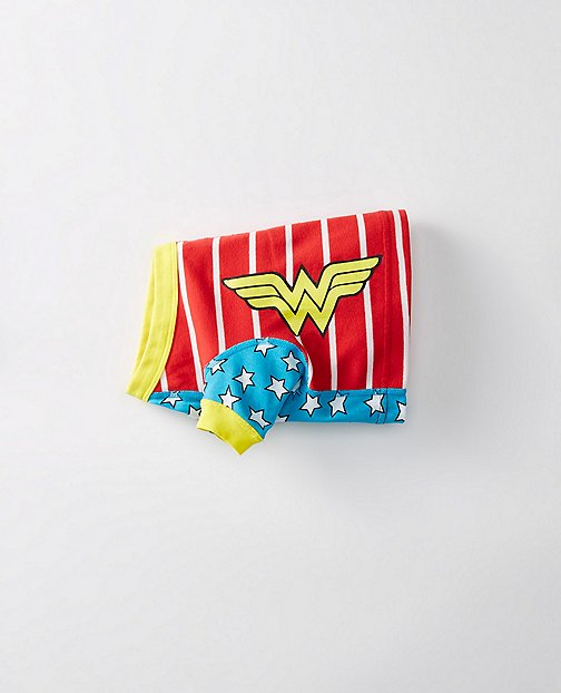 Justice League WONDER WOMAN™ Dog Johns in Organic Cotton by Hanna Andersson