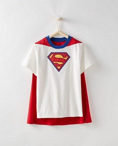 Justice League Boys SUPERMAN™ Tee & Cape Set by Hanna Andersson