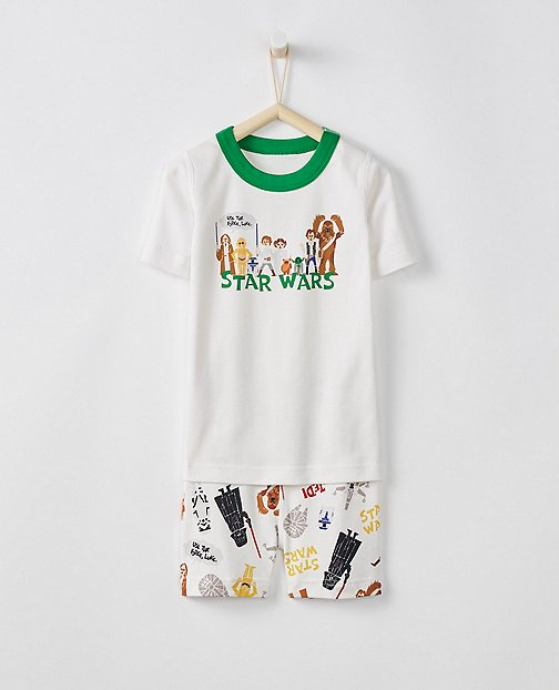 Star Wars™ Kids Long John Pajamas In Organic Cotton by Hanna Andersson