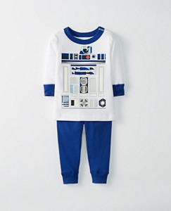 Star Wars™ Toddler Glow In The Dark Long John Pajamas In Organic Cotton by Hanna Andersson