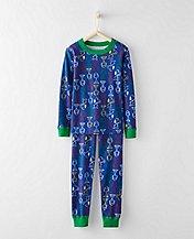 Peanuts Kids Long John Pajamas In Organic Cotton by Hanna Andersson