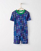 Peanuts Kids Short John Pajamas In Organic Cotton by Hanna Andersson