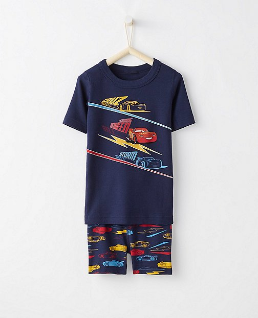 Disney•Pixar Cars 3 Kids Short John Pajamas In Organic Cotton by Hanna Andersson