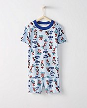 Dr. Seuss Kids Short John Pajamas In Organic Cotton by Hanna Andersson