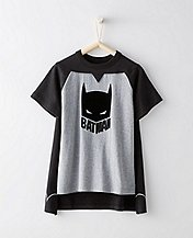 Justice League BATMAN™ Boys Tee & Cape Set by Hanna Andersson