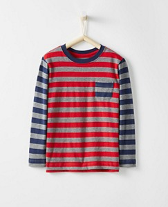 Boys Mixie Tee In Supersoft Jersey by Hanna Andersson
