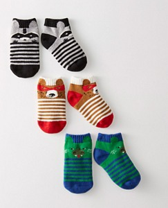 Baby Critter Socks 3 Pack by Hanna Andersson