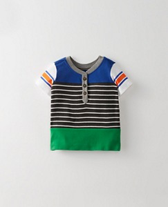 Toddler Stripeblock Henley by Hanna Andersson