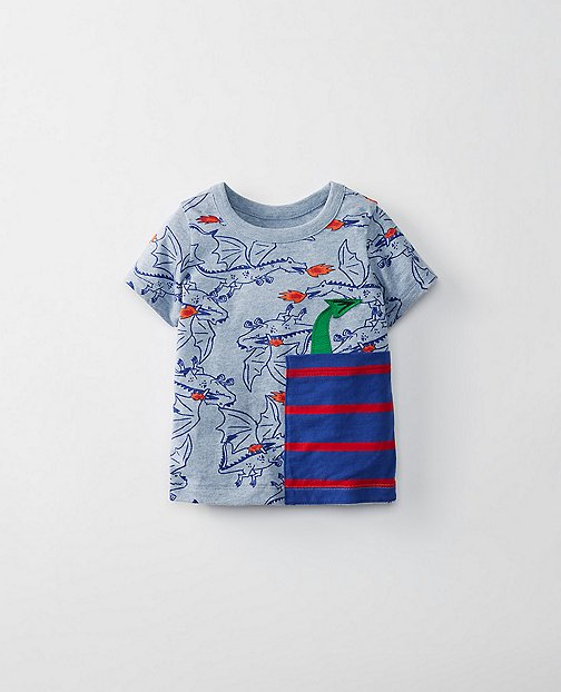 Toddler Pocket Play Tee in Supersoft Jersey by Hanna Andersson