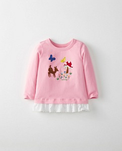 Toddler Flocked Art Tee In Supersoft Jersey by Hanna Andersson