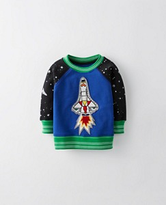 Toddler All Play Sweatshirt In French Terry by Hanna Andersson