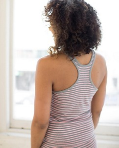 Women Unders Tank In Organic Cotton With Stretch by Hanna Andersson