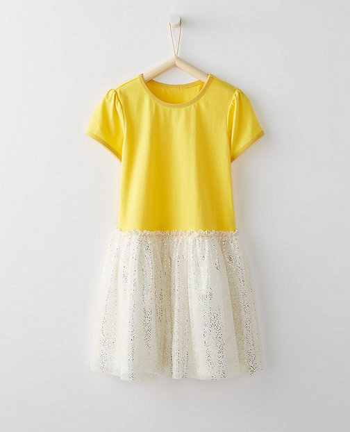 Girls The Shimmer Dress by Hanna Andersson